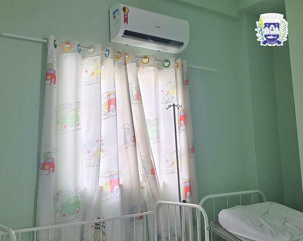 Climatização dará mais conforto a pacientes do Hospital Municipal